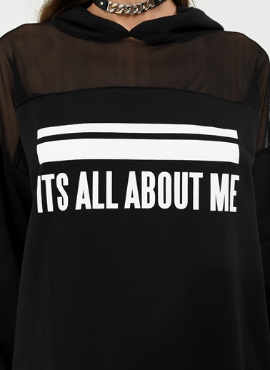 Sloganlı  Sweatshirt-People By Fabrika